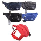 24 Units of Nylon Waist Pack - Fanny Pack