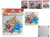 144 Units of Printed Hot Pad Holder, Trivet - Coasters & Trivets