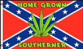 24 Units of Rebel Flag With Leaf - Signs & Flags