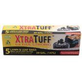 48 Units of 5 Count Xtratuff 13 Gallon Trash Bag Box - Garbage & Storage Bags