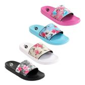 40 Units of Womens Vintage Floral Slide - Women's Flip Flops