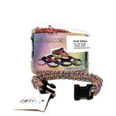 48 Units of MINI PARA-CORD BRACELET - Bracelets