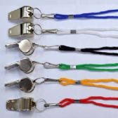 48 Units of METAL WHISTLE NECKLACE - ID Holders