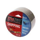 48 Units of Xtratuff 55 Yard Brown Packing Tape - Tape