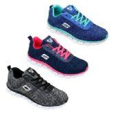 12 Units of Womens Fashion Sneaker In Navy Pink - Women's Sneakers