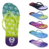 72 Units of Womens Ombre NYC Flip Flop - Women's Flip Flops