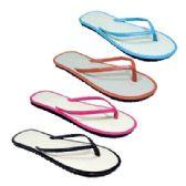 96 Units of Womens Bamboo Flip Flop - Women's Flip Flops