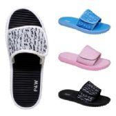 40 Units of Womens Knit Velcro Sandal - Women's Sandals