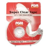 48 Units of 3/4 x 1000 Inch Clear Tape - Tape