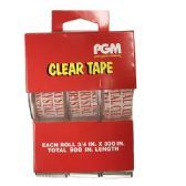 48 Units of 3/4 x 300 Inch Clear Invisible Tape - Tape