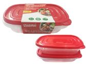 24 Units of 2pc Rectangle Food Container - Food Storage Bags & Containers