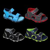 36 Units of Boys Sport Sandal Mix A - Boys Flip Flops & Sandals
