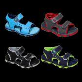 36 Units of Boys Sport Sandal Mix B - Boys Flip Flops & Sandals