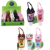 25 Units of 1oz Hand Sanitizer with Holder [Cats and Dogs] - Hand Sanitizer