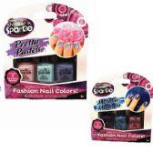 48 Units of 3pk Shimmer & Sparkle Nail Polish - Nail Polish