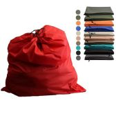 72 Units of Jumbo Drawstring Laundry Bag - Lunch Bags & Accessories