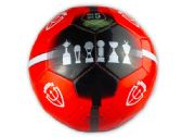 12 Units of Size 5 Argentina Independiente Black and Red Soccer Ball - Balls