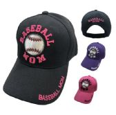 36 Units of BASEBALL MOM Ball Cap - Baseball Caps & Snap Backs