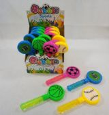 96 Units of Bubble Wand Sports Clapper - Bubbles