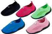 36 Units of Toddlers Athletic Water Shoes Pool Beach Aqua Socks - Girls Footwear