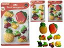 96 Units of 9pc Fruit Magnets - Refrigerator Magnets
