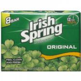 80 Units of 8 Pack Irish Spring Original Bar Soap Shipped By Pallet - Soap & Body Wash