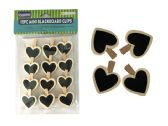 96 Units of 12pc Mini Blackboard Clips - Clips and Fasteners