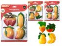 96 Units of 4pc Fruit Magnets - Refrigerator Magnets