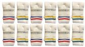 60 Units of Yacht & Smith Kids Cotton Tube Socks White With Stripes Size 4-6 BULK PACK - Boys Crew Sock