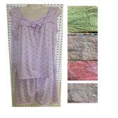 24 Units of Women's Cotton 2pc Pajama Set - Women's Pajamas and Sleepwear