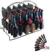 96 Units of Beauty Hair Mini Brush Rack - Hair Brushes & Combs
