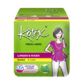 48 Units of 8 Piece Kotex Wider Panty Liner - Personal Care Items