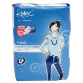 48 Units of 16 Piece Kotex Soft & Smooth Maxi Plus Pad - Personal Care Items