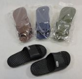 60 Units of Men's Slide Sandals [SPORT] - Women's Slippers