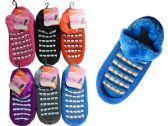 144 Units of WOMEN SLIPPER W/RUBBER - Girls Slippers