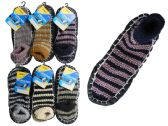 144 Units of House Slippers With Anti-Skid Dots - Girls Slippers