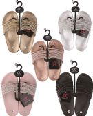 36 Units of Women's Beaded Strap Sandals - Women's Slippers