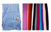 60 Units of Unisex Cashmere Scarfs Assorted Colors - Winter Scarves