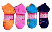 60 Units of Girls Printed Ankle Socks Size 6-8 Floral Pattern Socks - Girls Ankle Sock