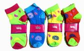 60 Units of Womens Junior Girls Printed Ankle Socks Size 9-11 Fruit Printed Socks - Womens Ankle Sock