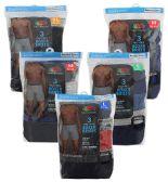 36 Units of Men's 3 Pack Fruit of the Loom Boxer Briefs, Size Medium - Mens Underwear