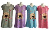 60 Units of Womens House Duster Night Gown Assorted Sizes - Women's Pajamas and Sleepwear