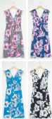 24 Units of Floral Tie Shoulder Midi Dress Assorted - Womens Sundresses & Fashion