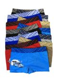 48 Units of Boys Sports Seamless Boxer Brief - Boys Underwear