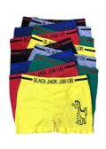 48 Units of Black Jack Junior Boy's Seamless Boxer Brief - Boys Underwear