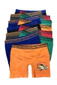 36 Units of Boys Sports Seamless Boxer Brief - Boys Underwear