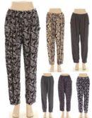 36 Units of Womens Fashion Assorted Syle Pants - Womens Capri Pants