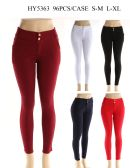 24 Units of Womens Fashion Solid Color Shorts In Assorted Color - Womens Pants