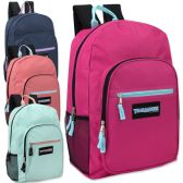 "24 Units of Trailmaker Deluxe 19 Inch Backpack- Girls - Backpacks 18"" or Larger"
