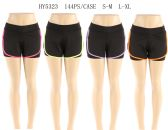 144 Units of Womens Shorts In Assorted Color - Womens Active Wear